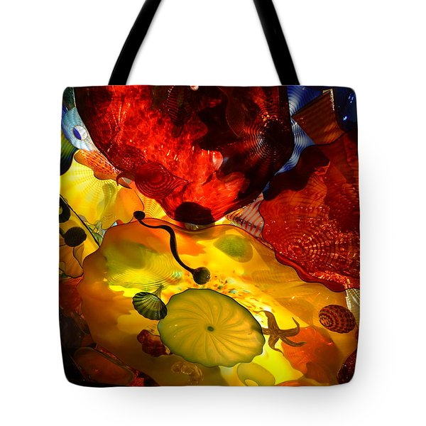 Chihuly-5 Tote Bag by Dean Ferreira