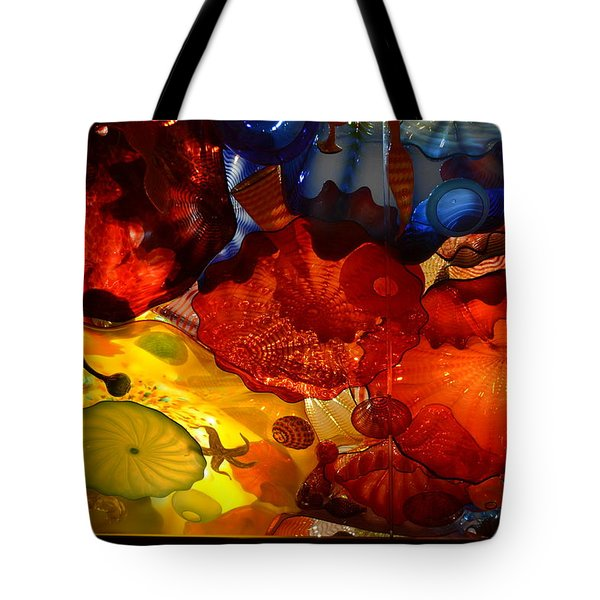 Chihuly-6 Tote Bag by Dean Ferreira