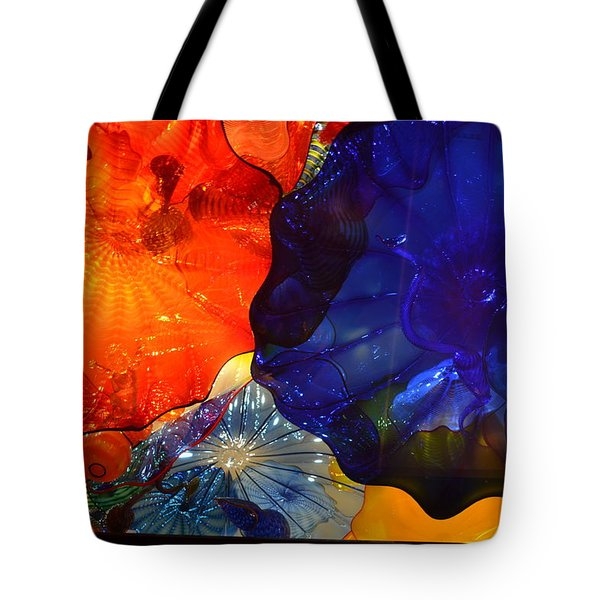 Chihuly-7 Tote Bag by Dean Ferreira