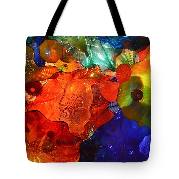 Chihuly-8 Tote Bag by Dean Ferreira
