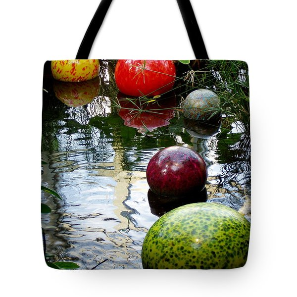 Chihuly Globes Tote Bag by Laurel Talabere