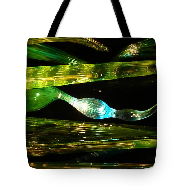 Chihuly Green In Denver Colorado Tote Bag