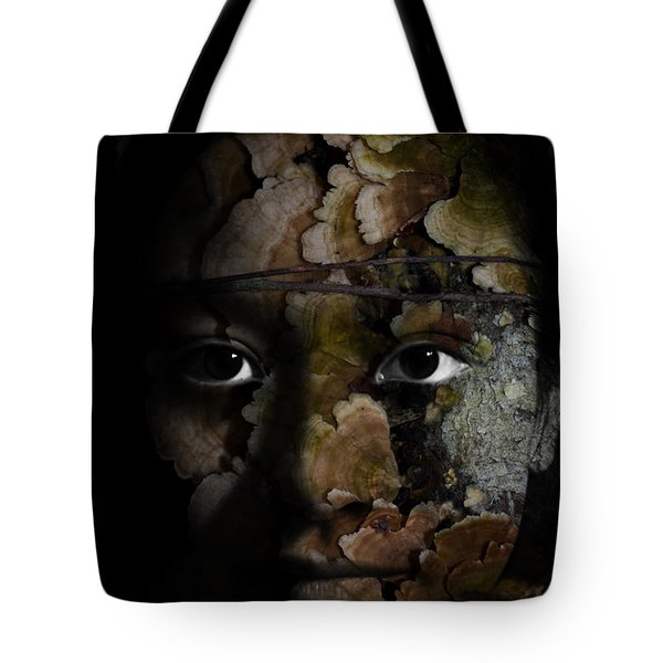 Child Of The Forest Tote Bag by Christopher Gaston