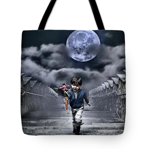 Child Of The Moon Tote Bag