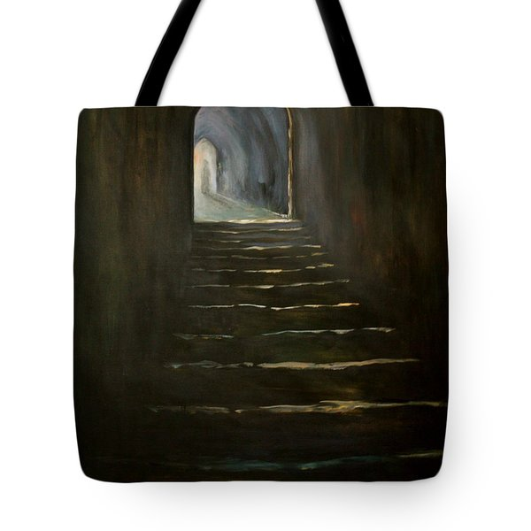 Tote Bag featuring the painting Childhood Memories 1 by Jean Walker