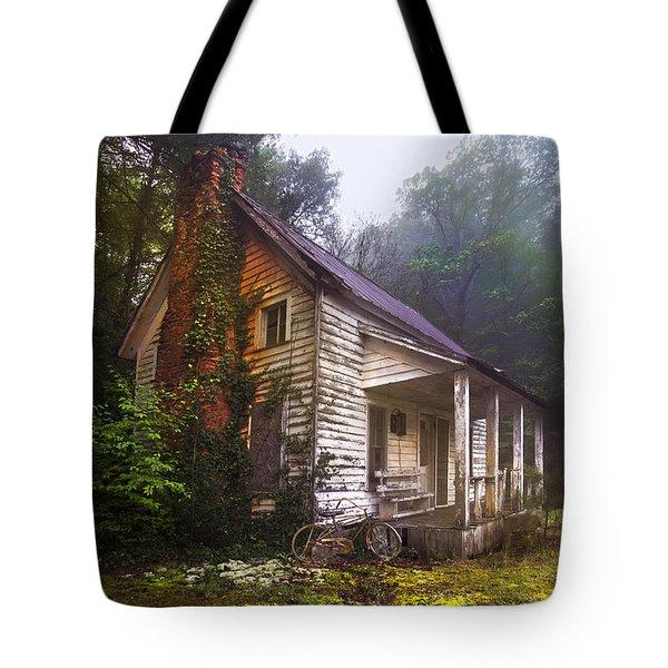 Childhood Dreams Tote Bag by Debra and Dave Vanderlaan