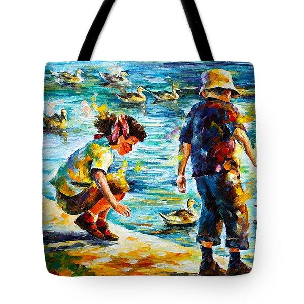 Childhood Tote Bag by Leonid Afremov