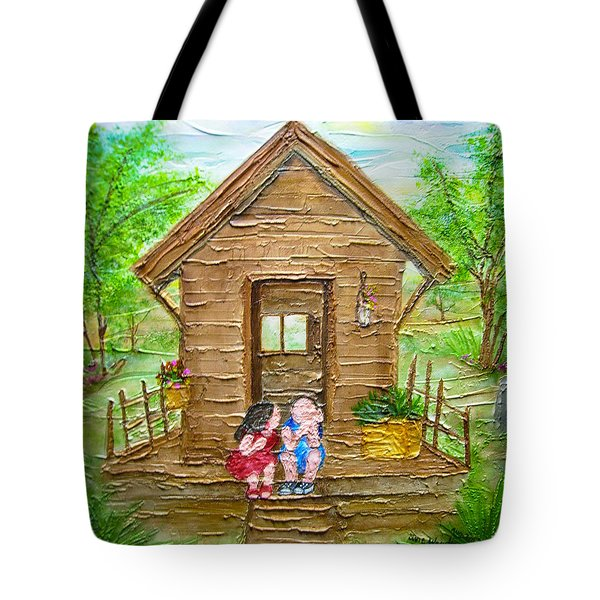 Childhood Retreat Tote Bag by Jan Wendt