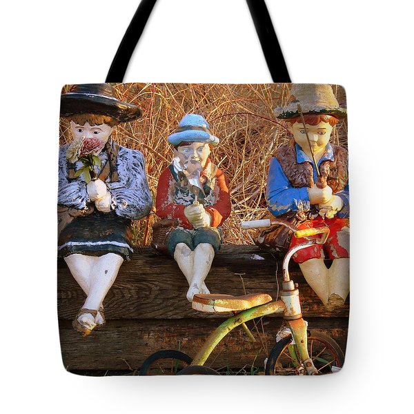 Tote Bag featuring the photograph Childhood by Rodney Lee Williams