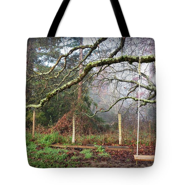 Childhood Swing Tote Bag