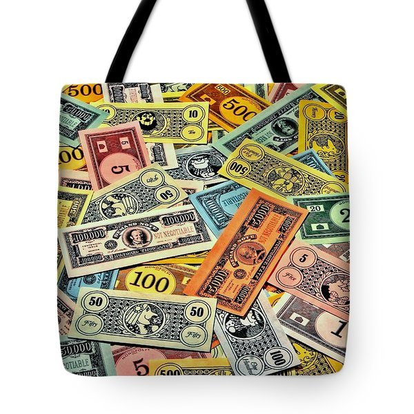 Childhood Wealth Tote Bag by Benjamin Yeager
