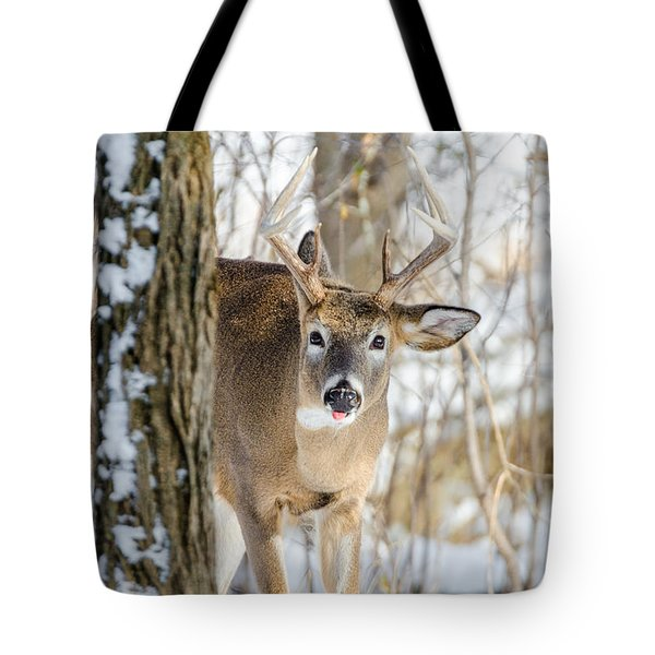Childish Buck Tote Bag