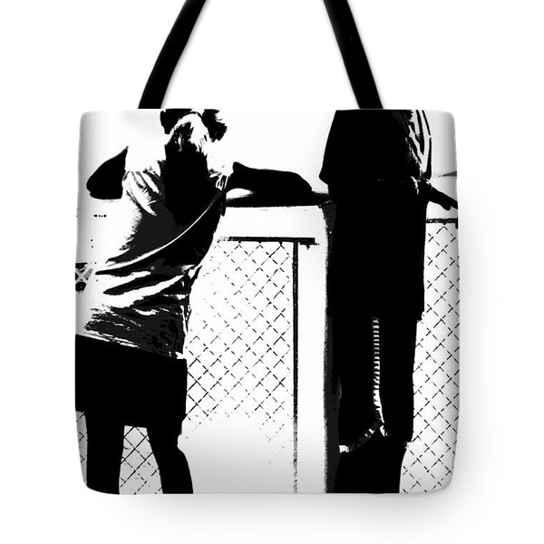 Tote Bag featuring the photograph Children On Governors Island Ferry Ride by Lilliana Mendez