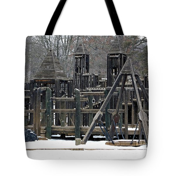 Tote Bag featuring the photograph Children Will Play by Gena Weiser