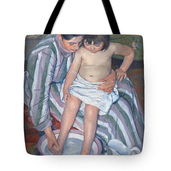 Child's Bath 1893 Tote Bag by  Mary Stevenson Cassatt