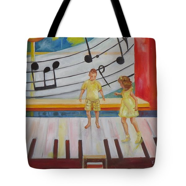Childs Play Tote Bag by Charme Curtin
