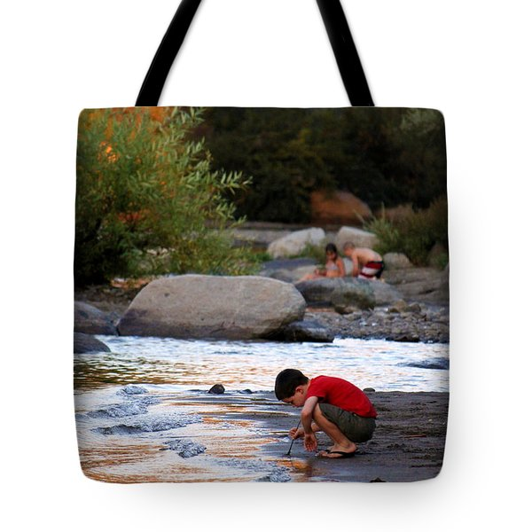 Tote Bag featuring the photograph Childs Play by Melanie Lankford Photography