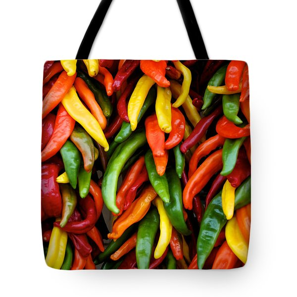 Chile Ristras Tote Bag