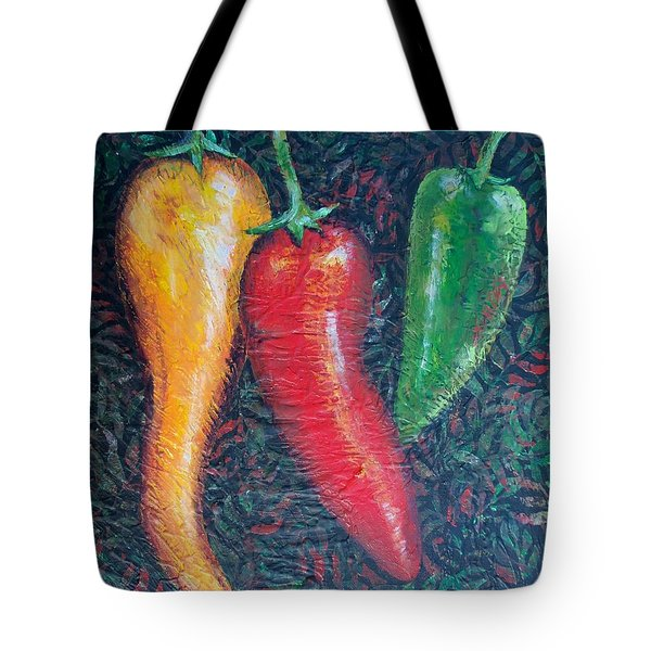 Chili Pepper Madness Tote Bag