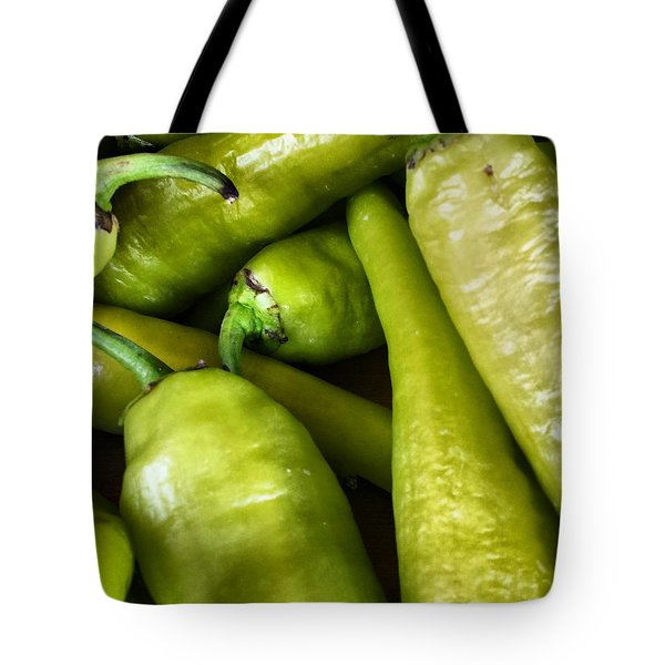 Chilies Tote Bag by Jason Michael Roust