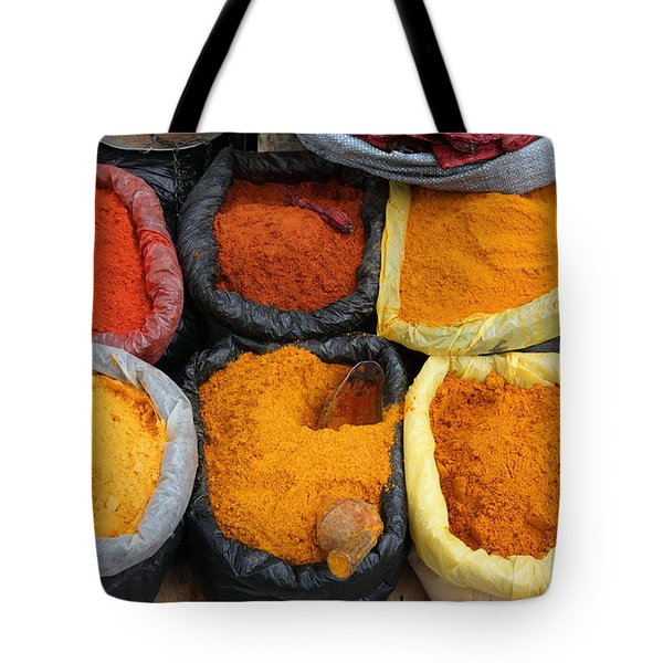 Chilli Powders 3 Tote Bag by James Brunker