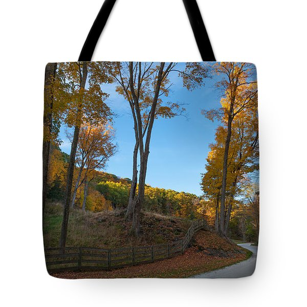 Chillin' On A Dirt Road Tote Bag by Bill Wakeley