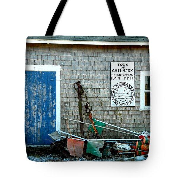 Chilmark Dock Shack Tote Bag