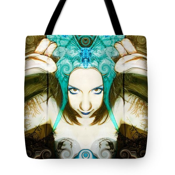 Chimera Tote Bag by Heather King