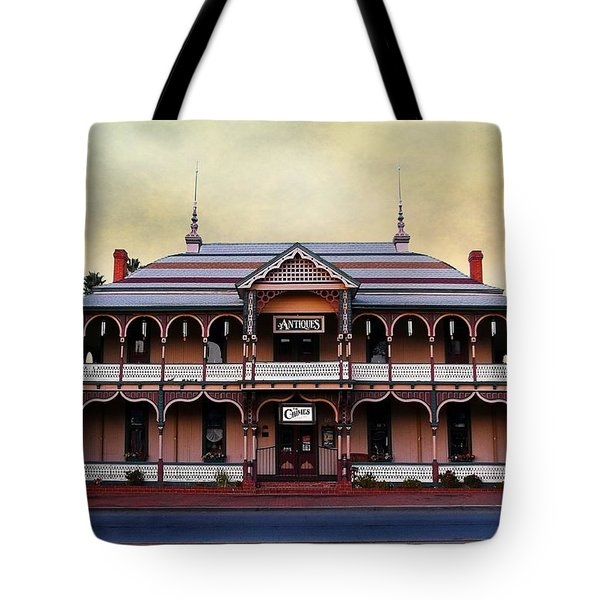 Chimes Antique Store Tote Bag by Glenn McCarthy Art and Photography