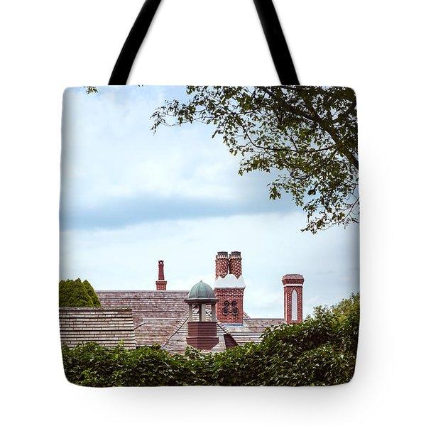 Chimneys Tote Bag by John M Bailey