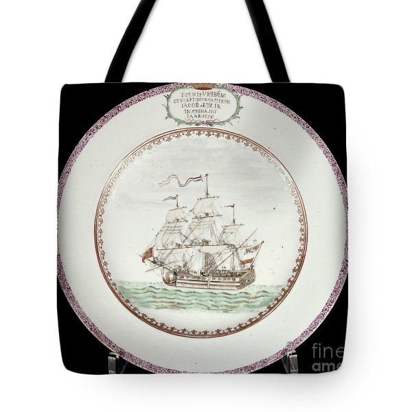 China - Dutch Ship 1756 Tote Bag by Granger