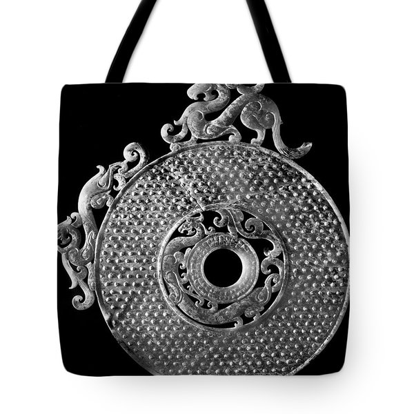 China - Jade Disk Tote Bag by Granger