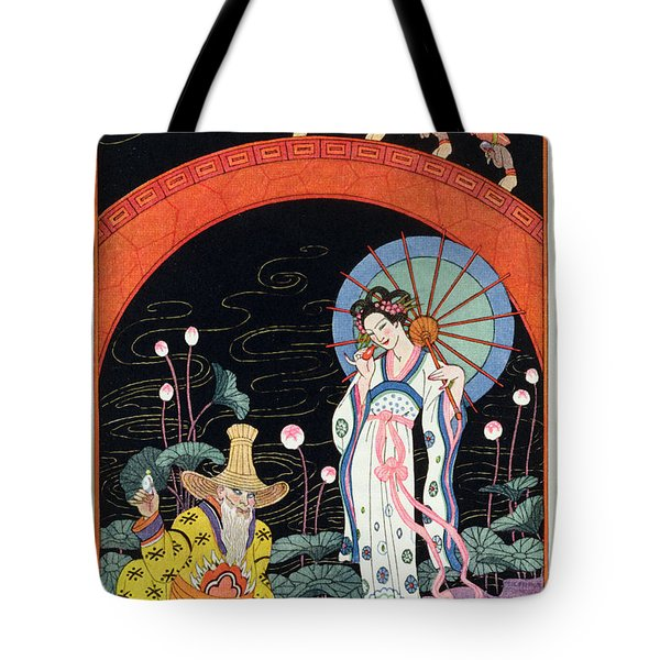 China Tote Bag by Georges Barbier