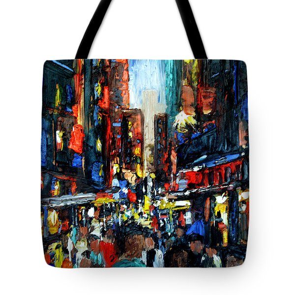 China Town Tote Bag by Anthony Falbo