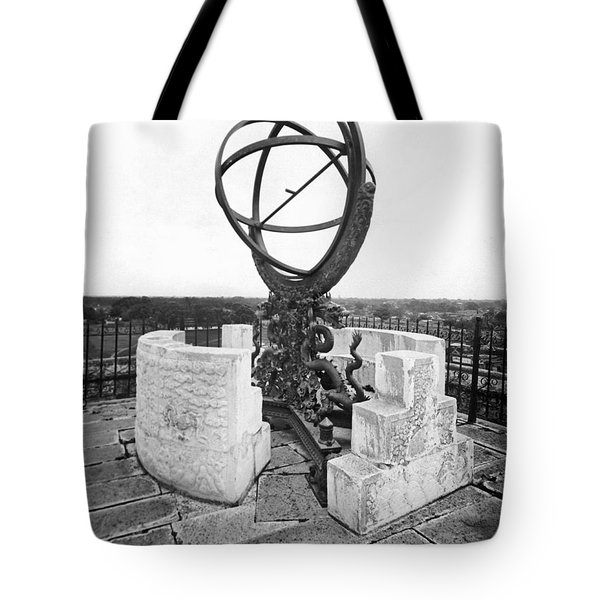 China's Imperial Observatory Tote Bag