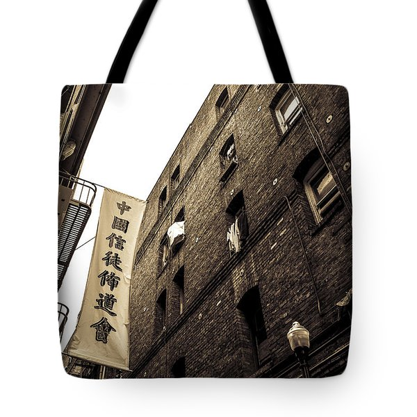 Chinatown Alley Tote Bag