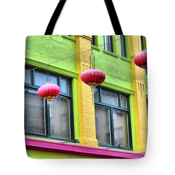 Chinatown Colors Tote Bag