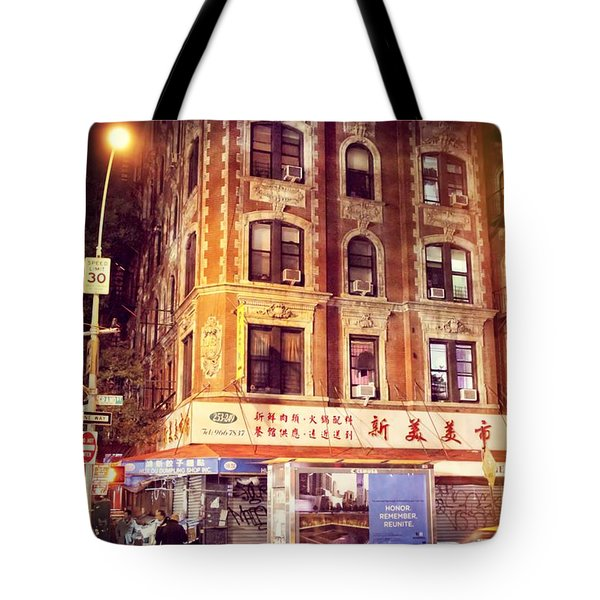 New York Taxi Street City Canvas Wall Art Picture Print Va: Chinatown In New York City At Night Photograph By Dan Sproul