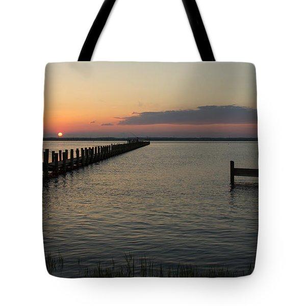 Chincoteague Island Sunset Tote Bag