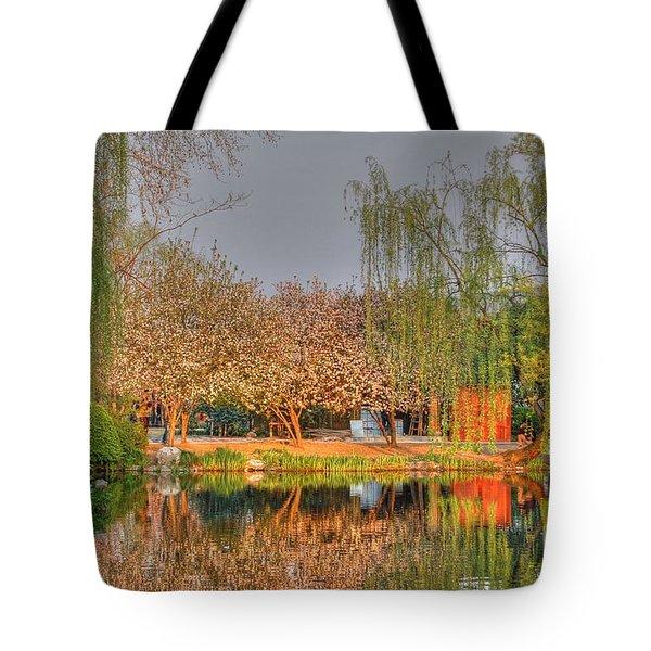 Chineese Garden Tote Bag