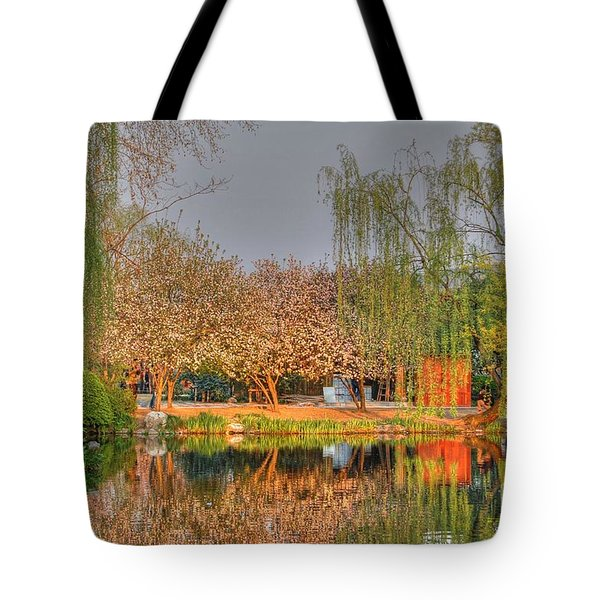 Chineese Garden Tote Bag