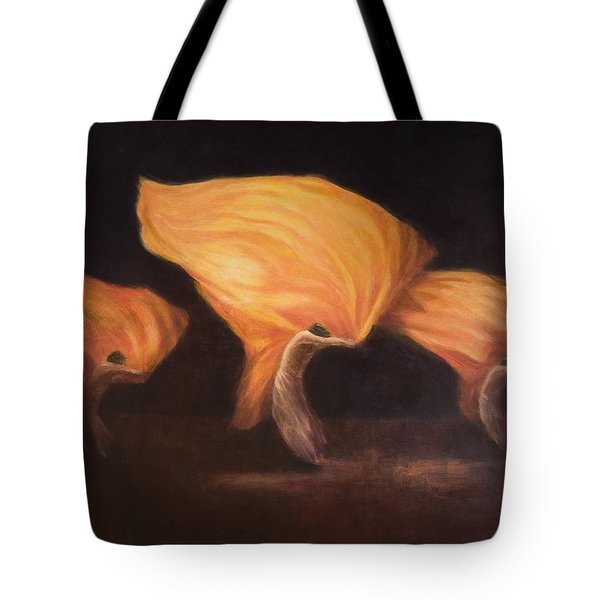 Chinese Dancers, 2010 Acrylic On Canvas Tote Bag