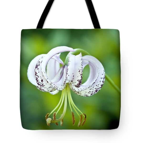 Tote Bag featuring the photograph Chinese Lily by Lana Enderle