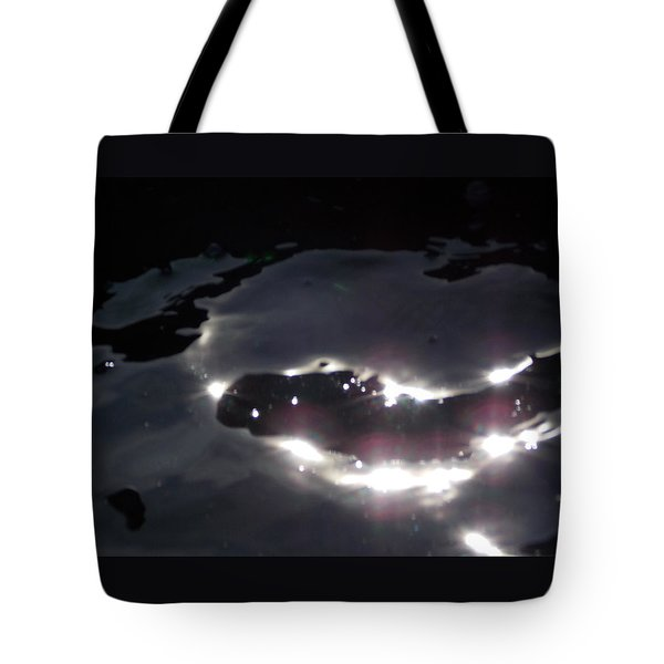 Tote Bag featuring the photograph  Water Dragon by Deborah Moen
