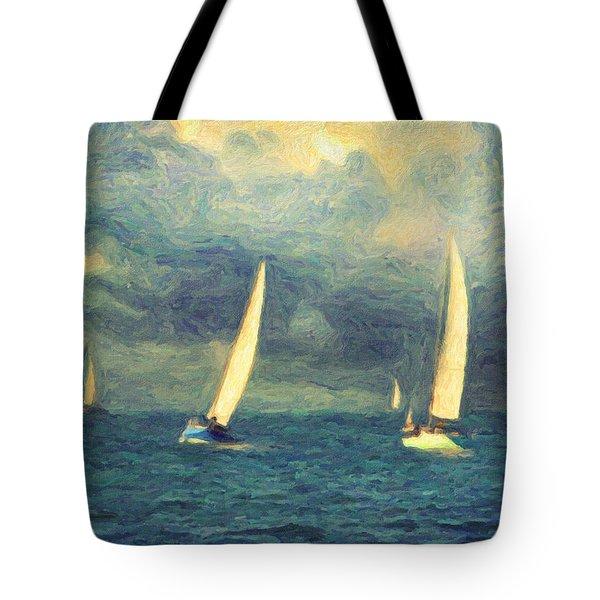 Chios Tote Bag by Taylan Apukovska
