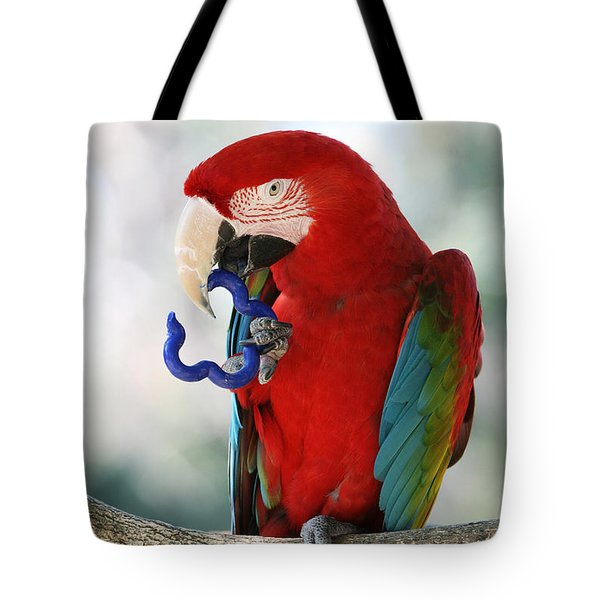 Tote Bag featuring the photograph Chip by Judy Whitton