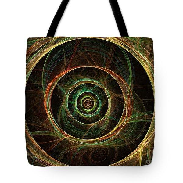 Chirality Tote Bag by Kim Sy Ok