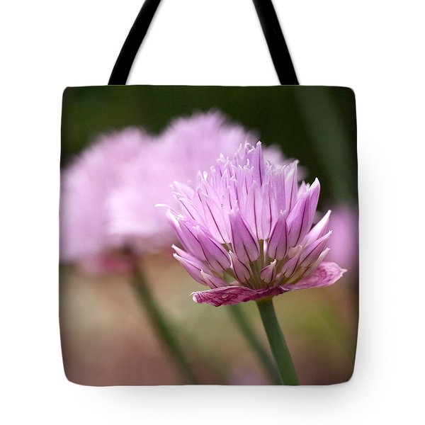 Chives Tote Bag by Rona Black