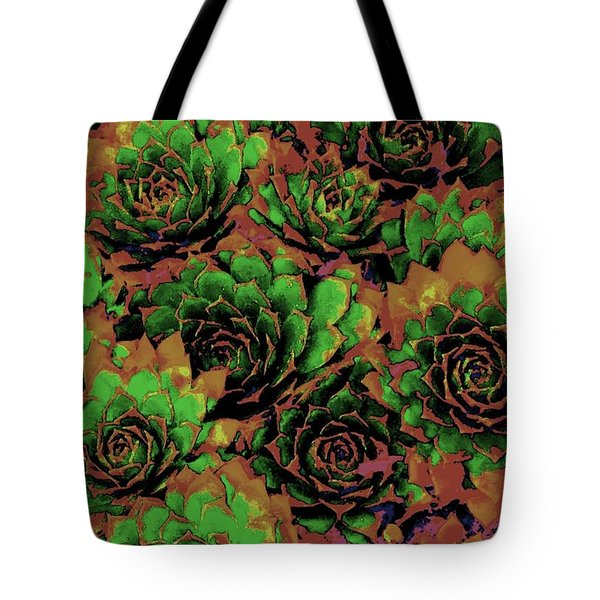Chocolate Chicks Tote Bag by Ann Johndro-Collins