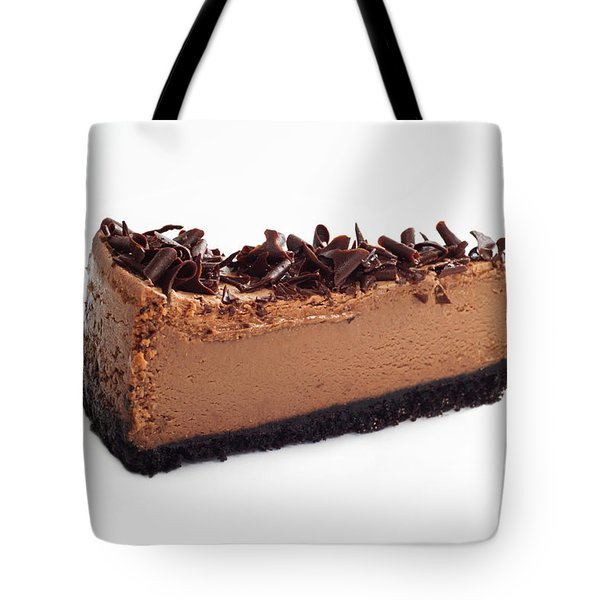 Chocolate Chocolate Cheesecake - Dessert - Baker - Kitchen Tote Bag by Andee Design